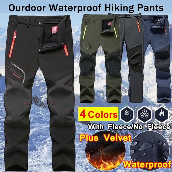 Fleece, Outdoor, camping, men trousers