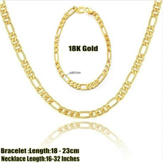 yellow gold, Chain Necklace, Fashion, Jewelry