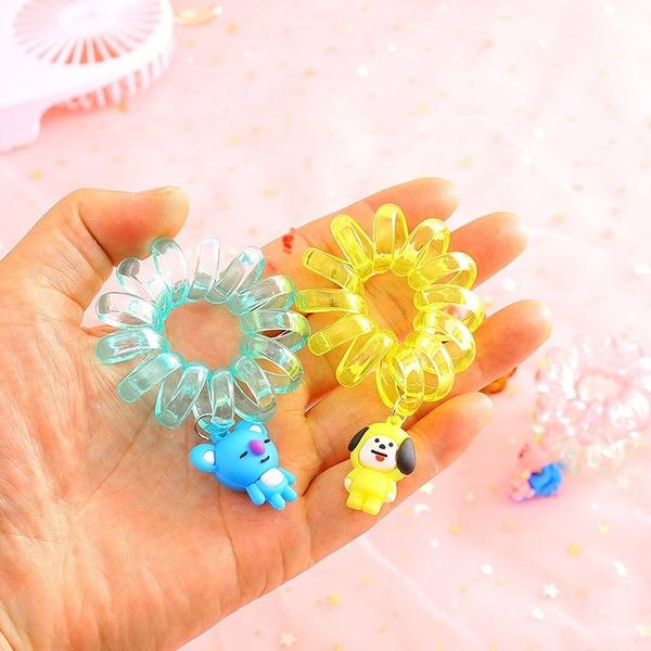 K-Pop, telephonelinehairring, hair, Jewelry