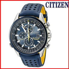 Chronograph, Blues, citizenwatche, Waterproof Watch