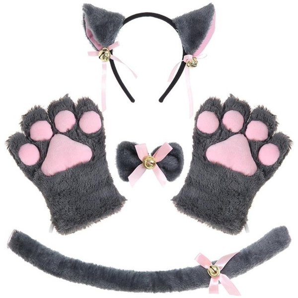 cute, Head Bands, Cosplay, paw