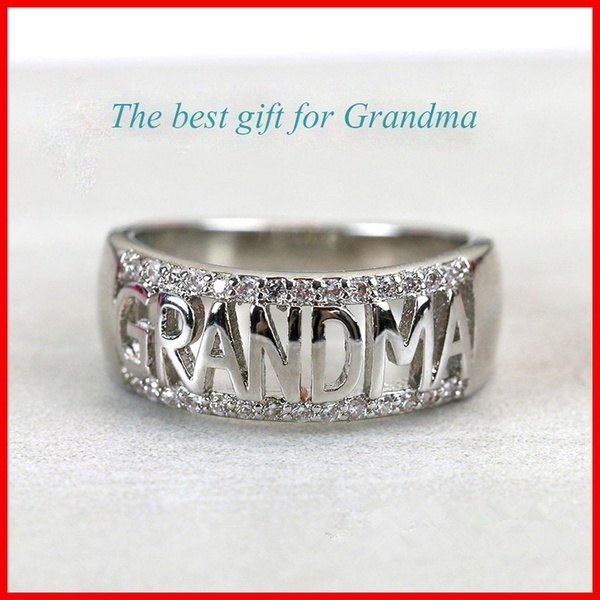 Sterling, DIAMOND, Rose Gold Ring, Family
