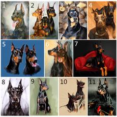 pet dog, 5ddiamondembroidery, doganimal, Home Decor