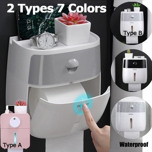 toiletpaperholder, wallmountedstorage, paperrollholder, Bathroom Accessories