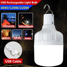 Light Bulb, Outdoor, led, usbrechargeable