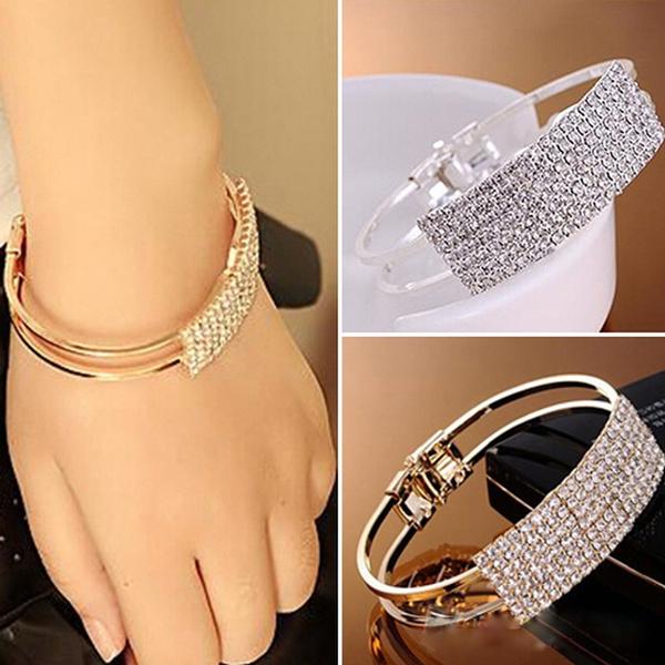 DIAMOND, Wedding Accessories, silver plated, Rhinestone