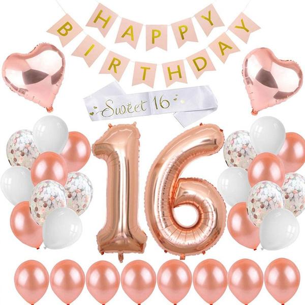 clearballoon, airballoon, Jewelry, glitterballoon