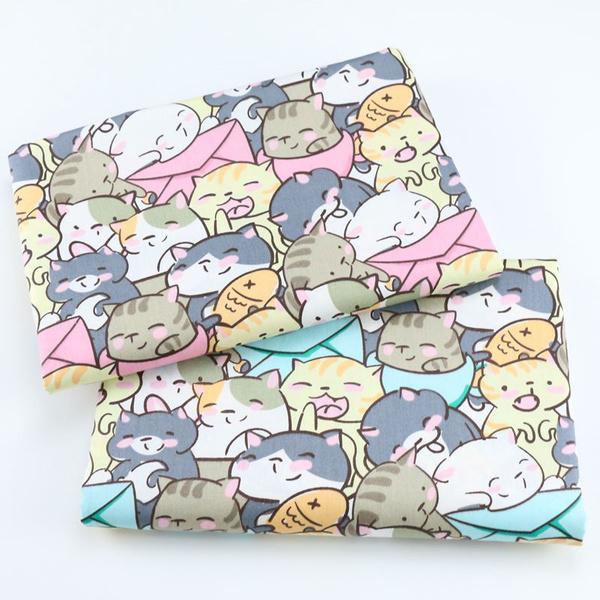 sew, cute, Fabric, Pure Cotton