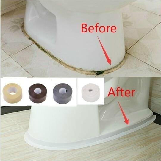 Bathroom, sinkstovecrackstrip, sealingstripe, Home & Living