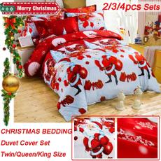 homeessential, Cotton, Christmas, beddingqueensize