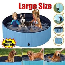 Foldable, petsswimpool, Summer, Pets