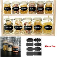 Kitchen & Dining, blackboardstickerslabel, labelsticker, organizersticker