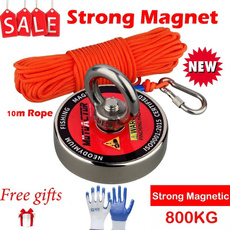 Magnet, strongfishingmagnet, salvagemagnet, Metal