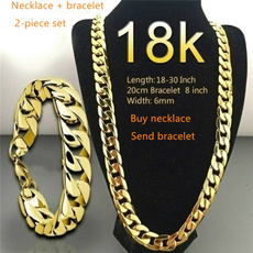 yellow gold, fashionluxury, 18k gold, punk necklace