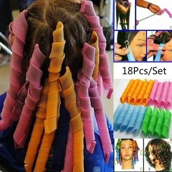 Hair Curlers, shorthairsnailroll, Shorts, donothurthaircurler