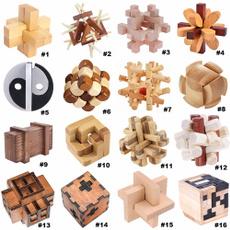learningtoy, woodenhandcraftedtoy, kongminglock, Chinese