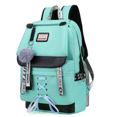 bigschoolbag, largegreenbackpack, Fashion, Capacity