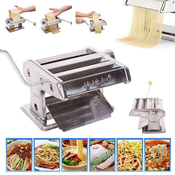 pastamachine, Steel, noodlemaker, noodlemakingmachine