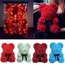 teddyrosebear, Flowers, rosedecoration, bearwithheart