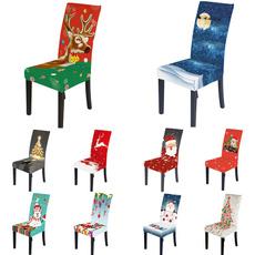 chaircover, dinnerchaircover, Christmas, Elastic