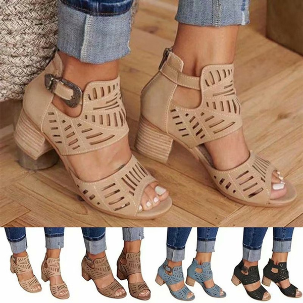 casual shoes, Summer, Sandals, Woman Shoes