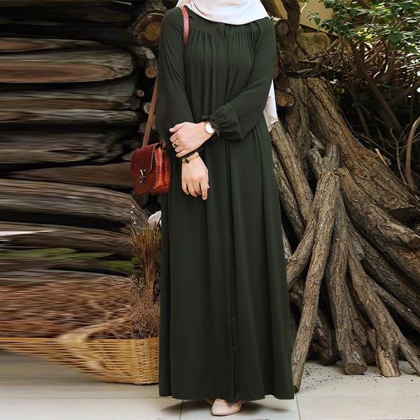 dubaiwomendres, muslimdres, Sleeve, Long Sleeve