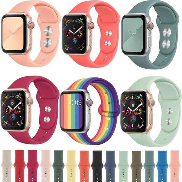 applewatch, Wristbands, Colorful, Silicone