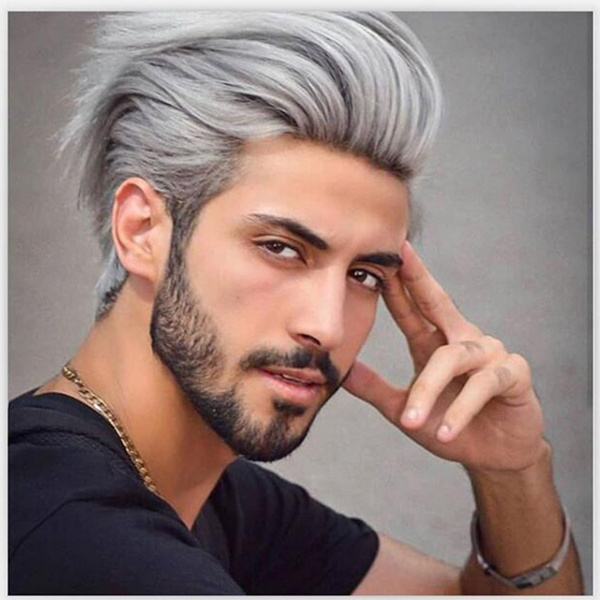 wig, Gray, hairstyle, graywig
