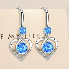 Heart, Fashion, Love, heart earrings