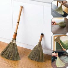 japaneseshorthandlebroom, softbristlebroom, floorcleansweepingbrush, Cleaning Supplies