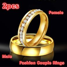 Couple Rings, DIAMOND, wedding ring, couplesringsset
