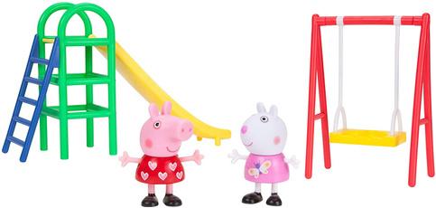 peppa, Set, playground, Fun