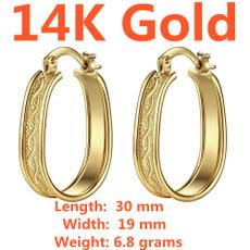 earringforwomen, 14kgoldearring, Hoop Earring, Jewelry