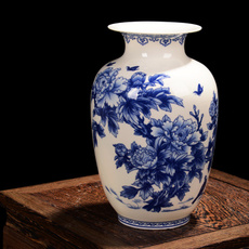 Antique, Blues, Ceramic, Chinese