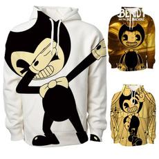 cute, girlsboyshoodie, Sleeve, bendyandtheinkmachinesweatshirt