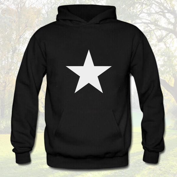 Fashion, fivepointedstar, hoodiemen, Fashion Hoodies