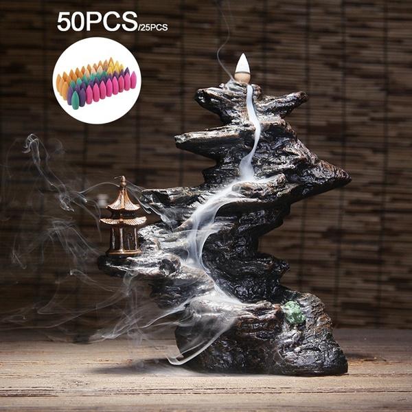 sandalwood, Smoke, Yoga, Home Decor