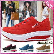 Sneakers, Plus Size, Fitness, Breathable