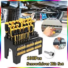 mechanictool, screw, screwdriversandbit, Screwdriver Sets