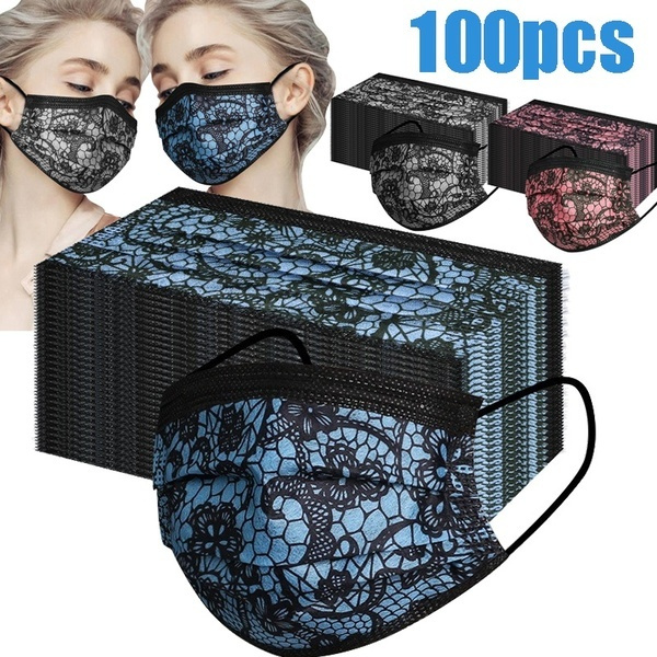 surgicalfacemask, womenmask, Lace, surgicalmask
