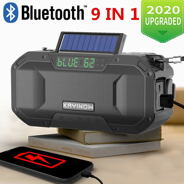 360/° HD Surround Sound USB Charging Can be Used as A Mobile Phone Holder LGDD Portable Wireless Bluetooth Speaker Unique Design Suitable for iOS and Android 10M Transmission Range