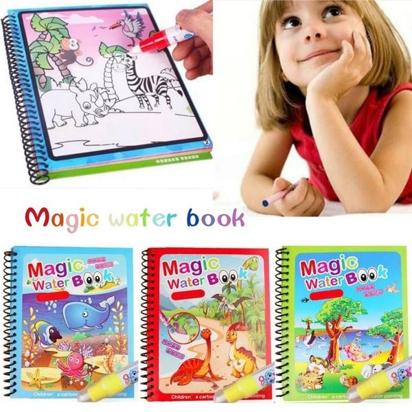 water, magicwatercolouringbook, Colorful, albumbook