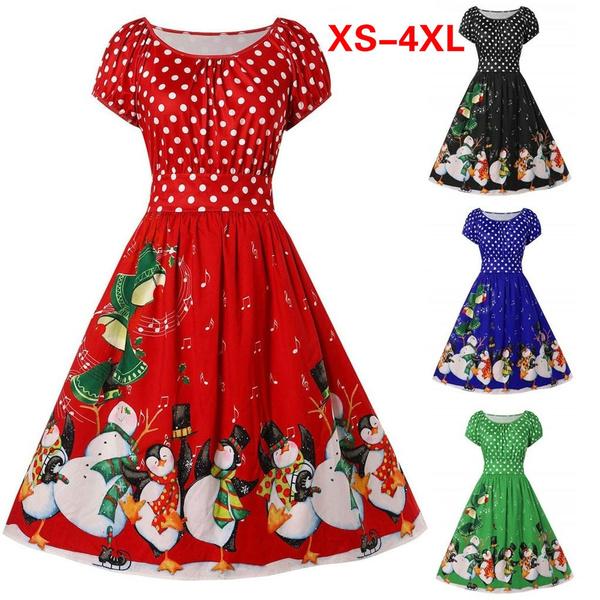 Plus Size, partydressesforwomen, Dress, short sleeves