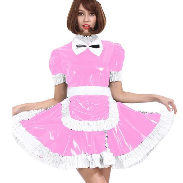 Mini, short sleeve dress, glossydres, Halloween Costume