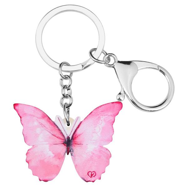 butterfly, cute, butterflyjewelrykeychain, keychainsforwomen