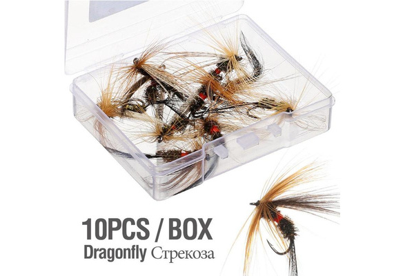 10XInsects Flies Fly Fishing Lures Topwater Dragonfly Artificial Q5J1 Flies V2W2