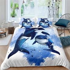 whale, Shark, Home Decor, beddingsetskingsize