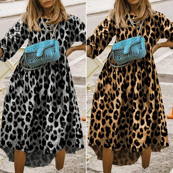 Holiday, irregulardres, Leopard, Dress