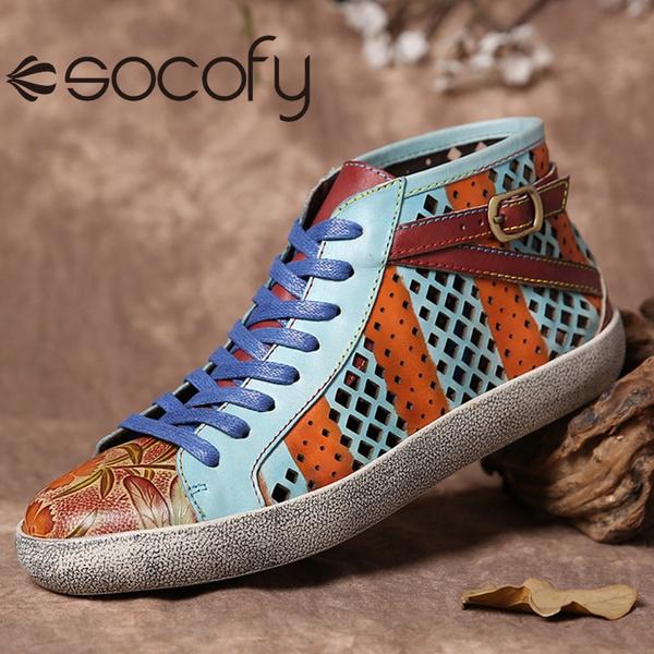bohemia, loafersforwomen, Sneakers, short boots