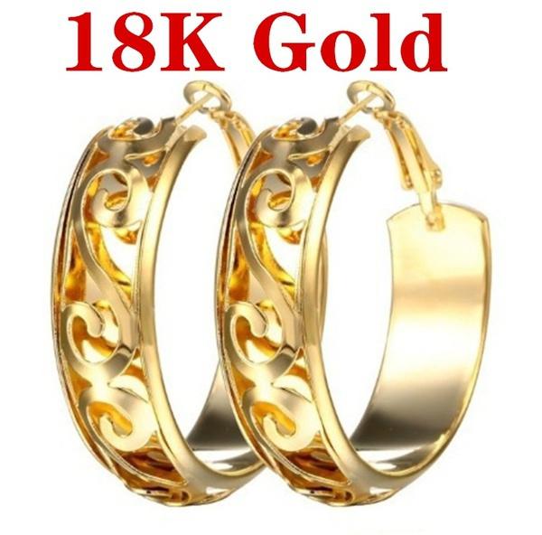 yellow gold, Fashion, Dangle Earring, Jewelry
